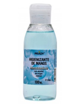 GEL HIDROALCOHOL 100ml  PRADY